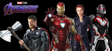 Marvel Vengadores Recortes De Tamaño Natural