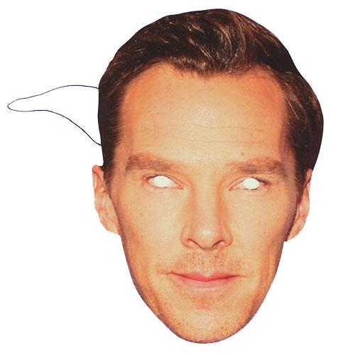 Benedict Cumberbatch Máscara De La Cara De Cartón