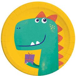 Suministros de fiesta de dinosaurios