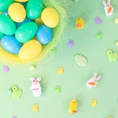 Decoraciones De Mesa De Pascua