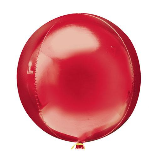 Orbz Rojo Florete Globo De Helio 38 Cm / 15 Pulgadas