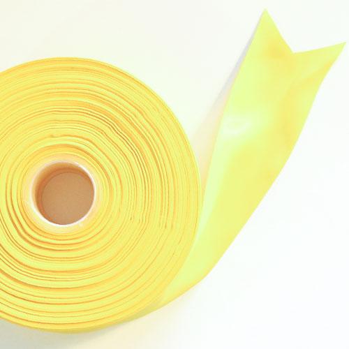 Amarillo Satén Enfrentado Carrete De Cinta 45mm X 91m