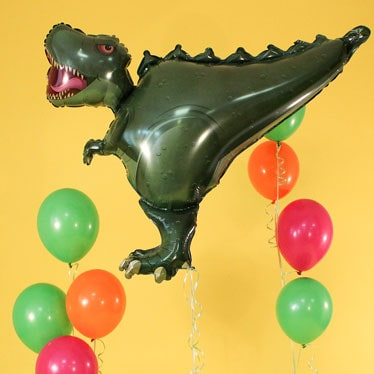 Globos de dinosaurios