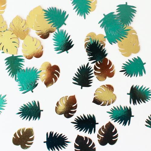 Key West Metálico Sale De Papel Mesa Confeti Recortes - Paquete De 48