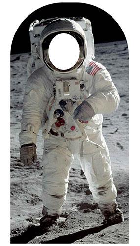 Buzz Aldrin Soporte En Recorte De Cartón De Tamaño Natural 194Cm