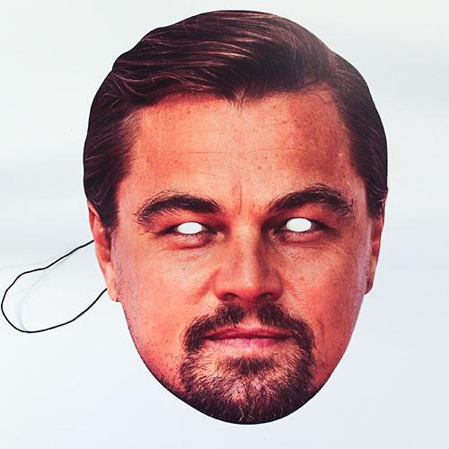 Leonardo Dicaprio Cartulina Cara Mascara