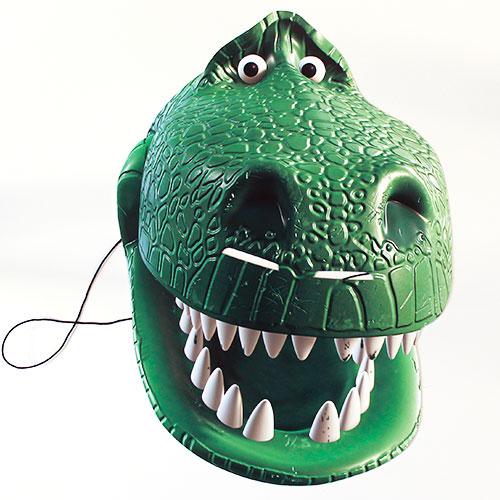 Rex Juguete Historia 4 Cartulina Mascara Facial
