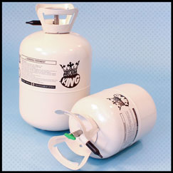 Cilindros desechables de gas de helio