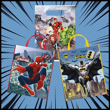 Bolsas Y Cajas De Fiesta De Superhéroes
