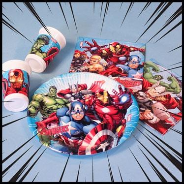 Temas De Fiesta De Superhéroes