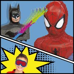 Superhéroes Pinatas Y Juegos