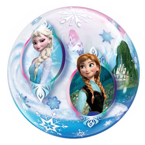 Disney Congelado Burbuja Helio Qualatex Globo 56Cm / 22 In