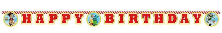 Disney Pixar Historia Del Juguete 4 Feliz Cumpleaños Cartulina Carta Articulado Pancarta 200Cm