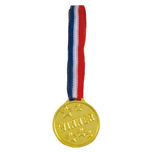 Oro Plastic Ganadoras Medalla