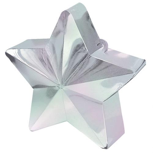 Iridiscente Estrella Globo Peso