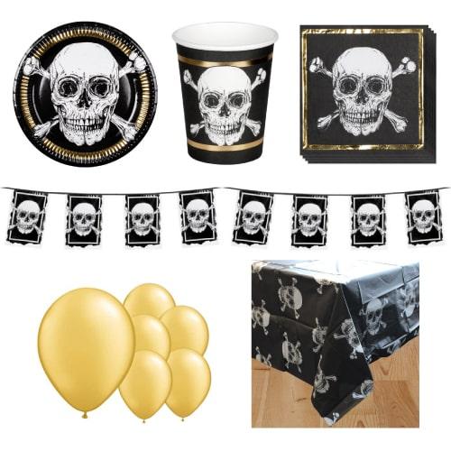 Paquete de fiesta piratas de lujo para 6 personas