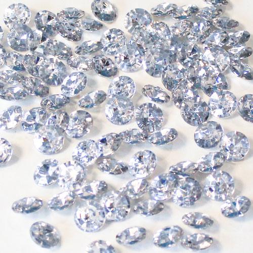 Plata Diamantes Redondos De 12 Mm Gemas De Mesa Premium 28G