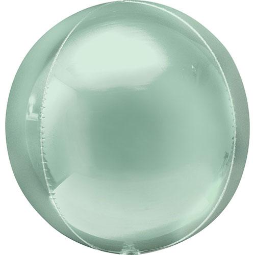 Menta Verde Orbz Papel De Aluminio Globo De Helio 38Cm / 15 In