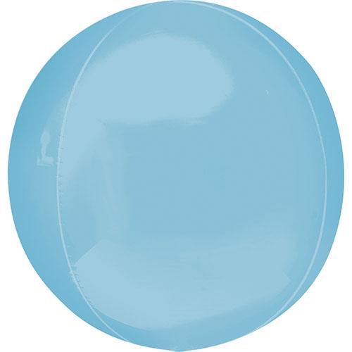 Azul Pastel Orbz Papel De Aluminio Globo De Helio  38Cm / 15 In