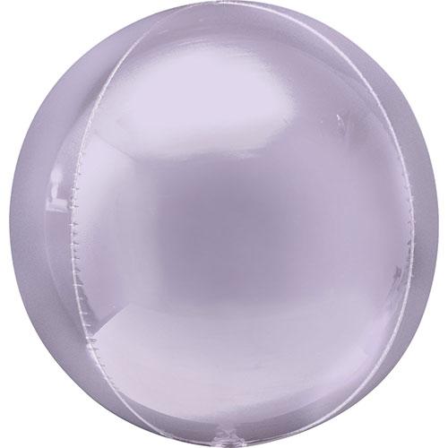 Pastel Lila Orbz Papel De Aluminio Globo De Helio 38 Cm / 15 In