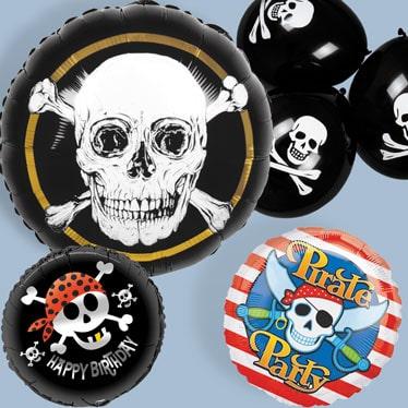 Globos de piratas