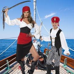 Vestido de pirata