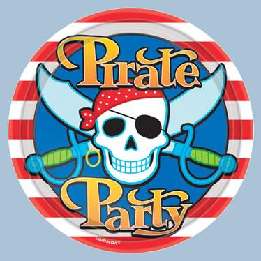 Suministros de fiestas temáticas pirata