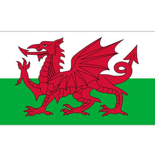 Bandera De Gales 5 X 3 Pies