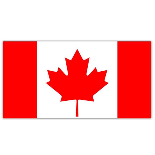 Indicador De Canadá 5 X 3 Pies