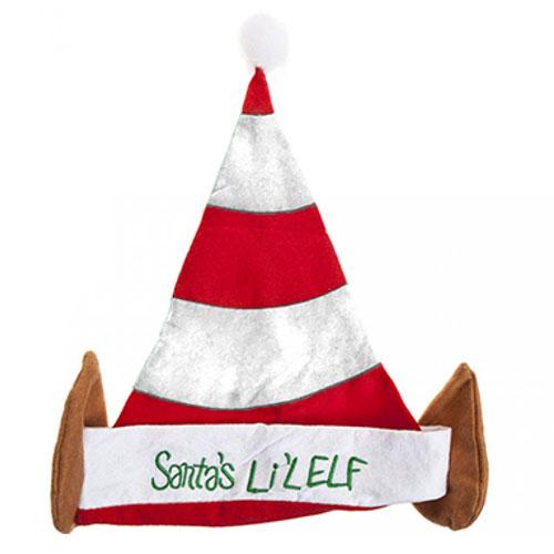 Sombrero De Duende De La Navidad De Los Niños