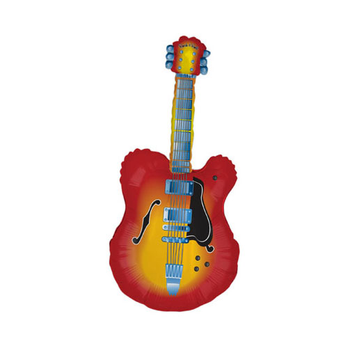 Guitarra Eléctrica Helio Lámina Gigante Globo 109Cm / 43 In
