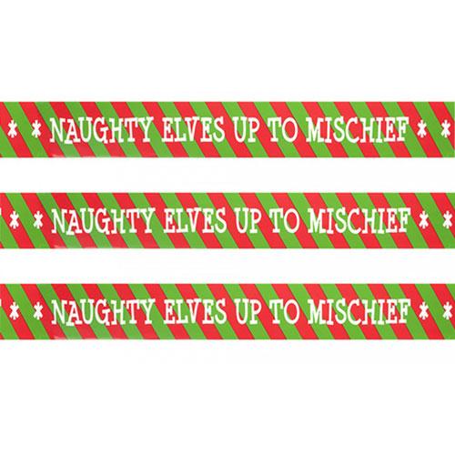Elf Diseño Impreso Cinta Magnetofónica 274Cm - Paquete De 3