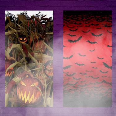 Setters de escena de Halloween
