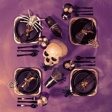 Vajilla de Halloween