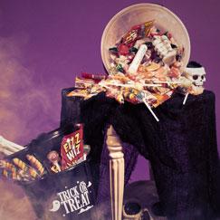 Dulces y golosinas de Halloween