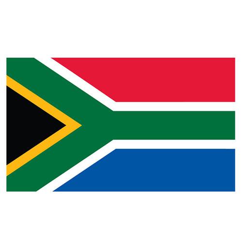 Bandera De Sudáfrica 5 X 3 Pies