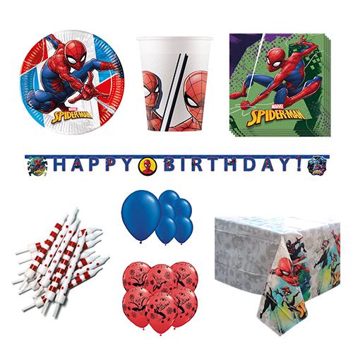 Paquete de fiesta de lujo Spider-Man para 16 personas
