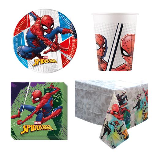 Hombre araña 8 Paquete de fiesta de valor personal