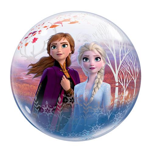 Disney Congelado 2 Burbuja Globo De Helio Qualatex 56 Cm / 22 Pulgadas