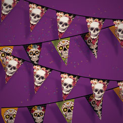 Banners de la fiesta de Halloween