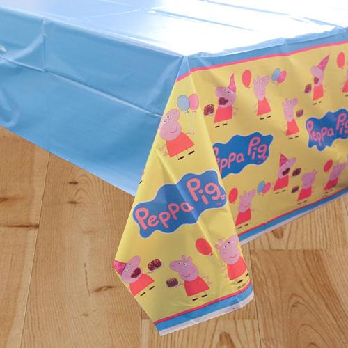 Peppa Pig Mantel De Plástico 243Cm X 137Cm