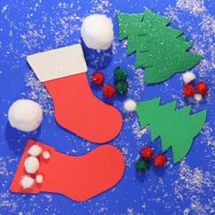 Artes Y Artesanía De Navidad Suministros