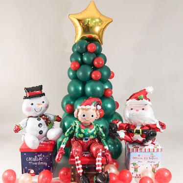 Globos Temáticos De Navidad