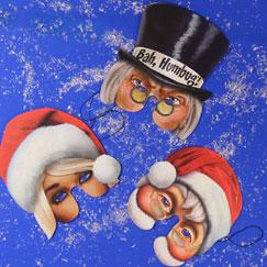 Máscaras de Navidad