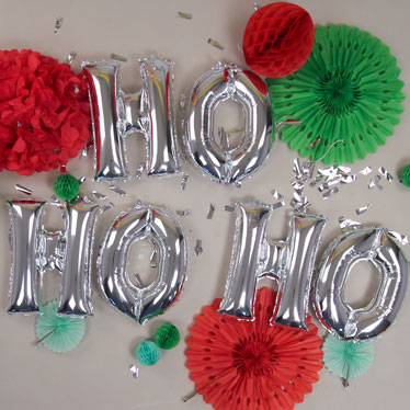 Letras, números y globos de frases