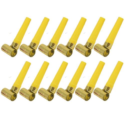 Reventones De Lámina De Oro - Paquete De 12