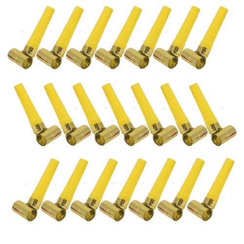 Reventones De Lámina De Oro - Paquete De 144