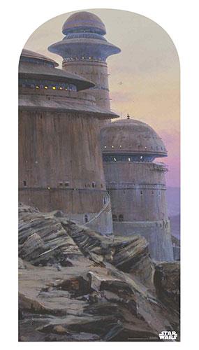Jabba'S Palace Star Wars Foto Telón De Fondo Recorte De Cartón 184Cm