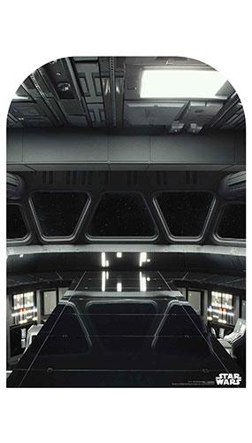Puente Destructor De Estrellas Tamaño Infantil Star Wars Telón De Fondo Recorte De Cartón 130 Cm
