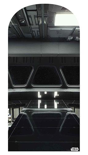 Puente Destructor De Estrellas Star Wars Foto Telón De Fondo Recorte De Cartón 184Cm